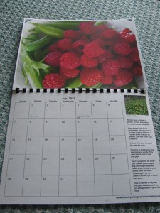 Country Living in a Cariboo Valley 2013 Garden Calendar