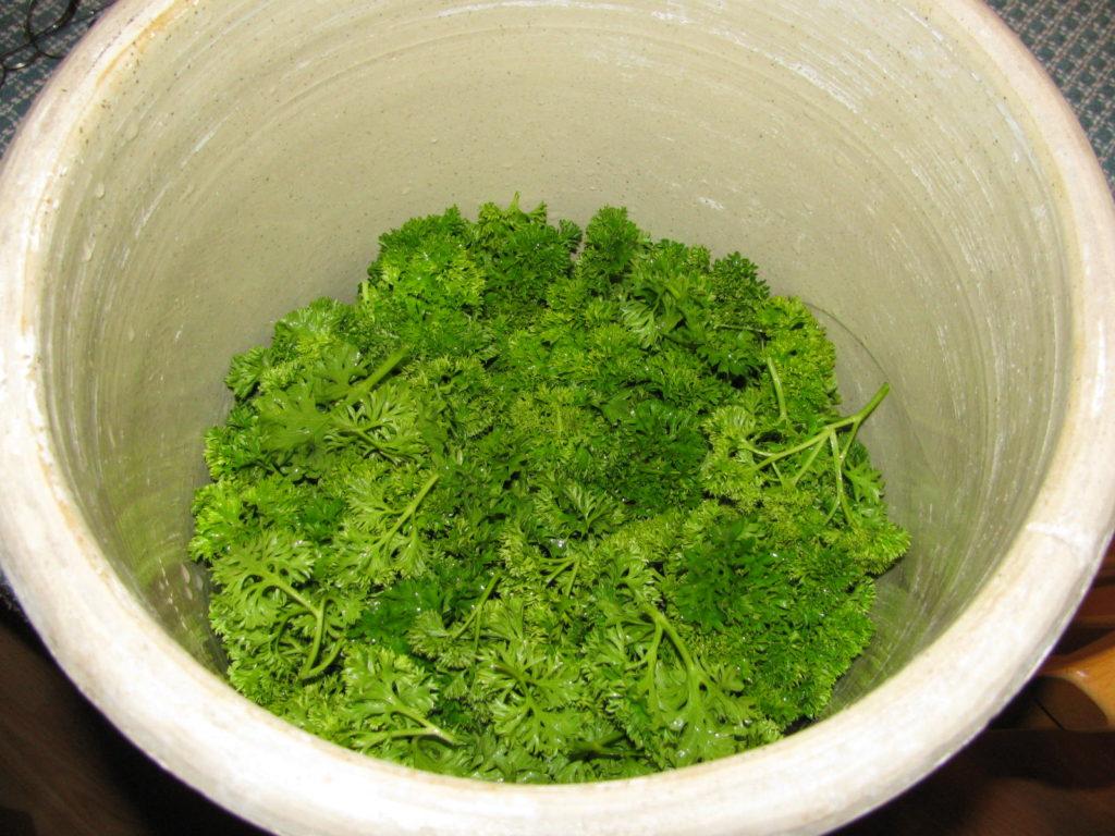 parsley wine, how to make wine
