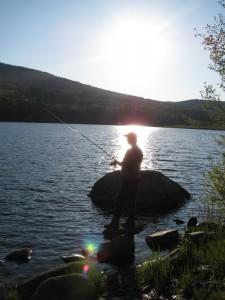 fishing, lakes