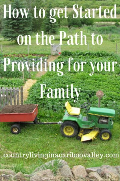 How To Get Started on the Path to Providing for Your Family