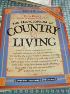 Carla Emery Encyclopedia of Country Living, Homesteading Books, books, country living