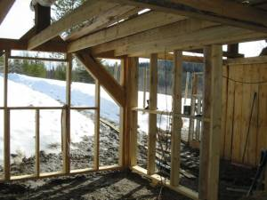 build your own barn, barns, milling wood