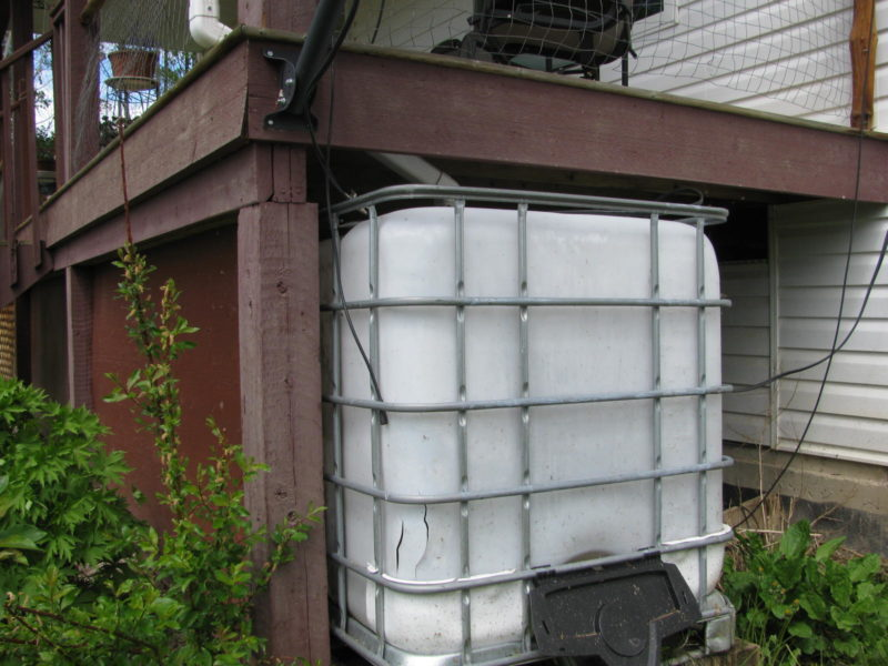 Rainwater Storage and Recovery