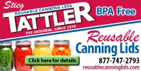 198 x 100 TATTLER AD NEWEST ONE1 Tattler Canning Lids   Important to Read