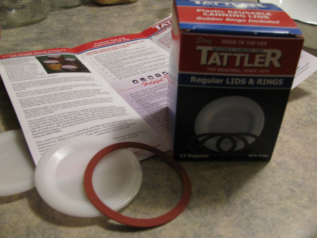 tattler, canning, preserving, water bath canning, pressure canning