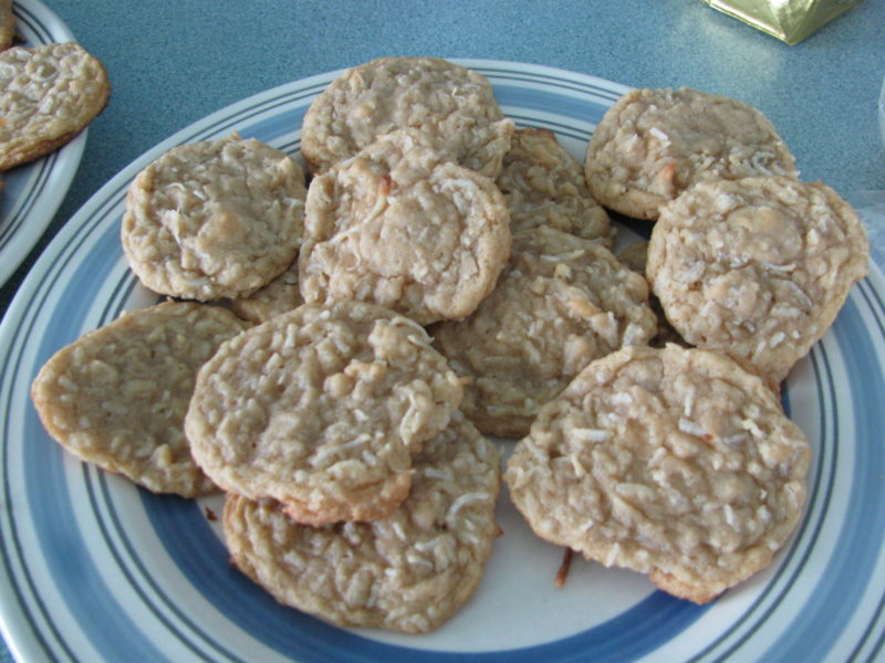 Chewy Coconut Cookies – Recipe