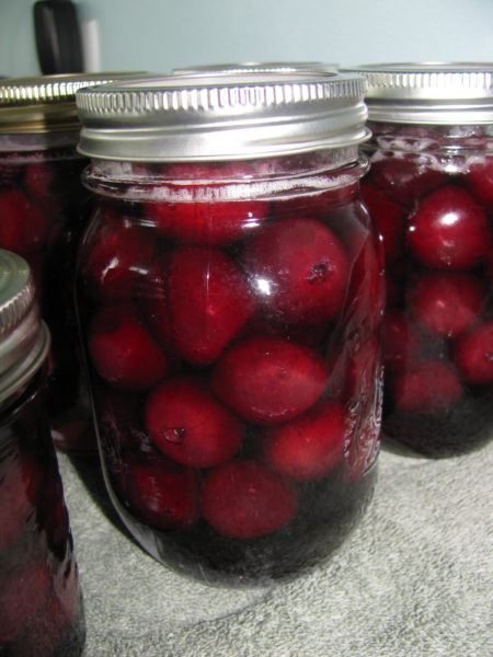 Canning Cherries – Water Bath Preserving