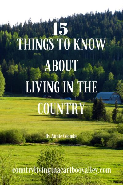 15 thing to know about living in the country, self sufficiency, homesteading, country living