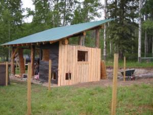 barn chicken coop Jun 4 2007 300x225 Our Barn   Wordless Wednesday