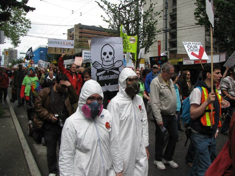 March Against Monsanto, Vancouver, May 25, 2013