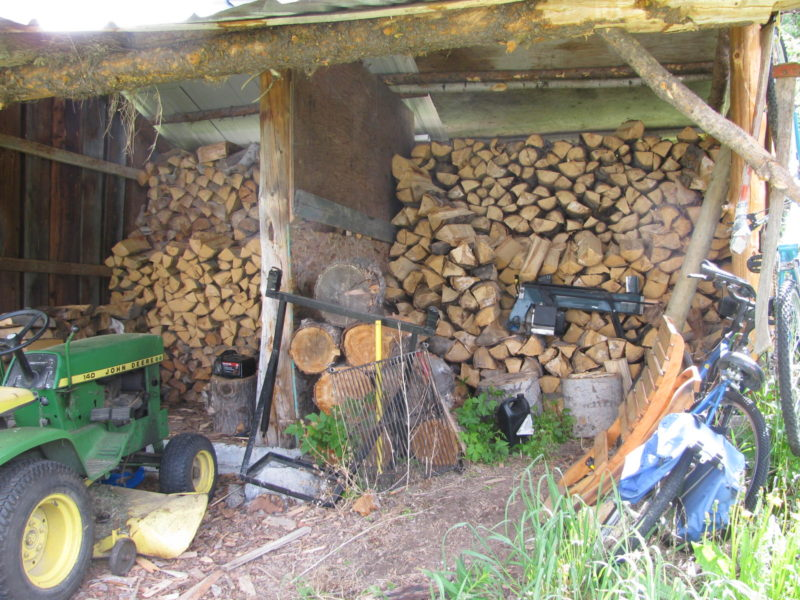 Cleaning up the Wood Shed
