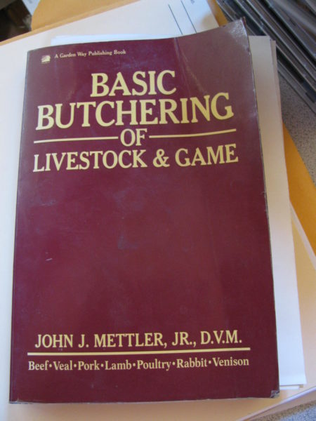 A Great Book about Butchering around the Homestead