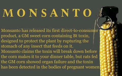 The Menance of Monsanto