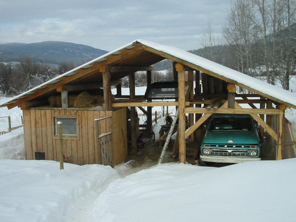 building a barn, how to build a barn