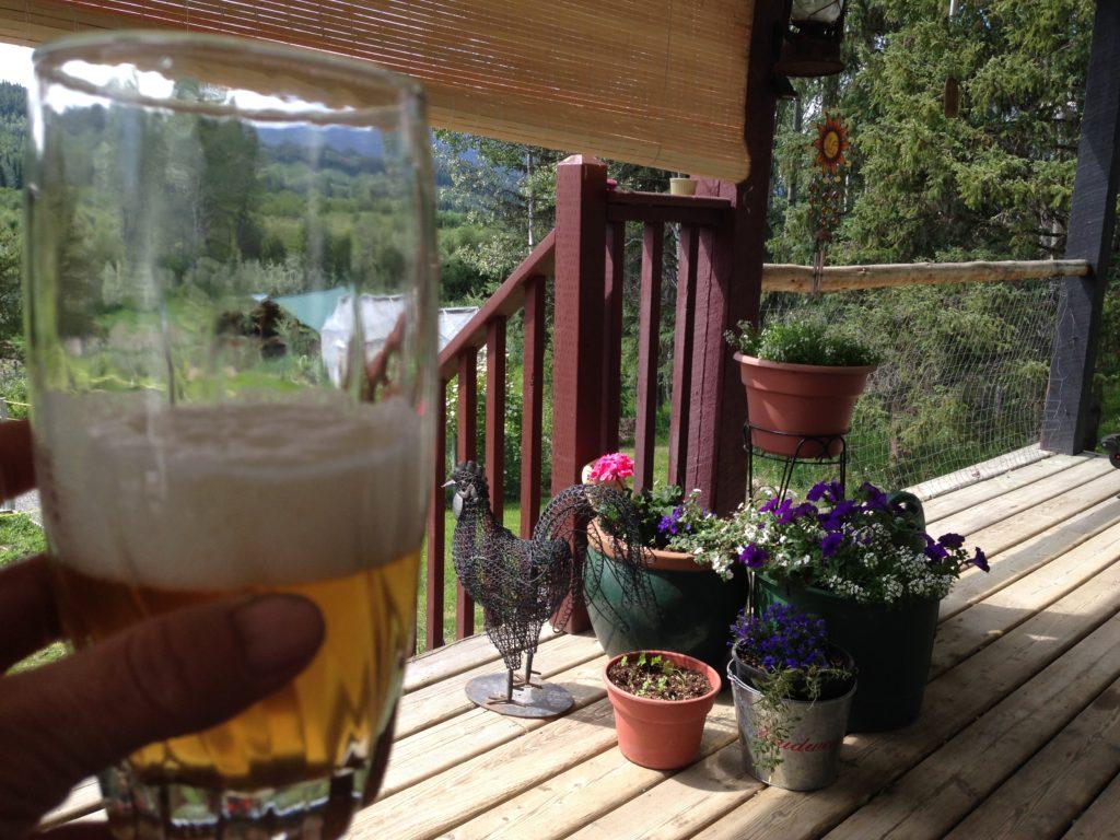 make your own wine, beer, garden, flowers