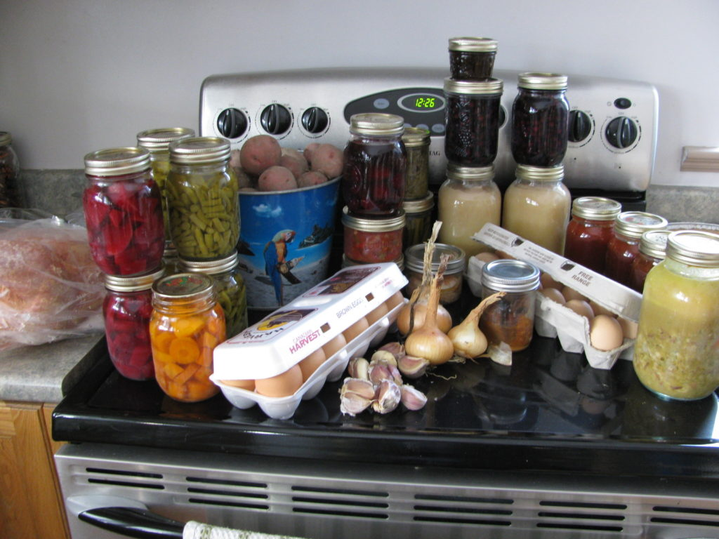 canning, preserving, how to save money this month