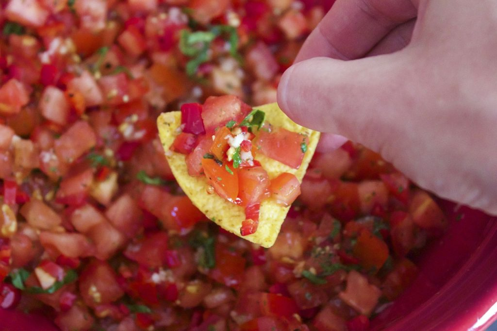 make salsa, salsa recipe, food