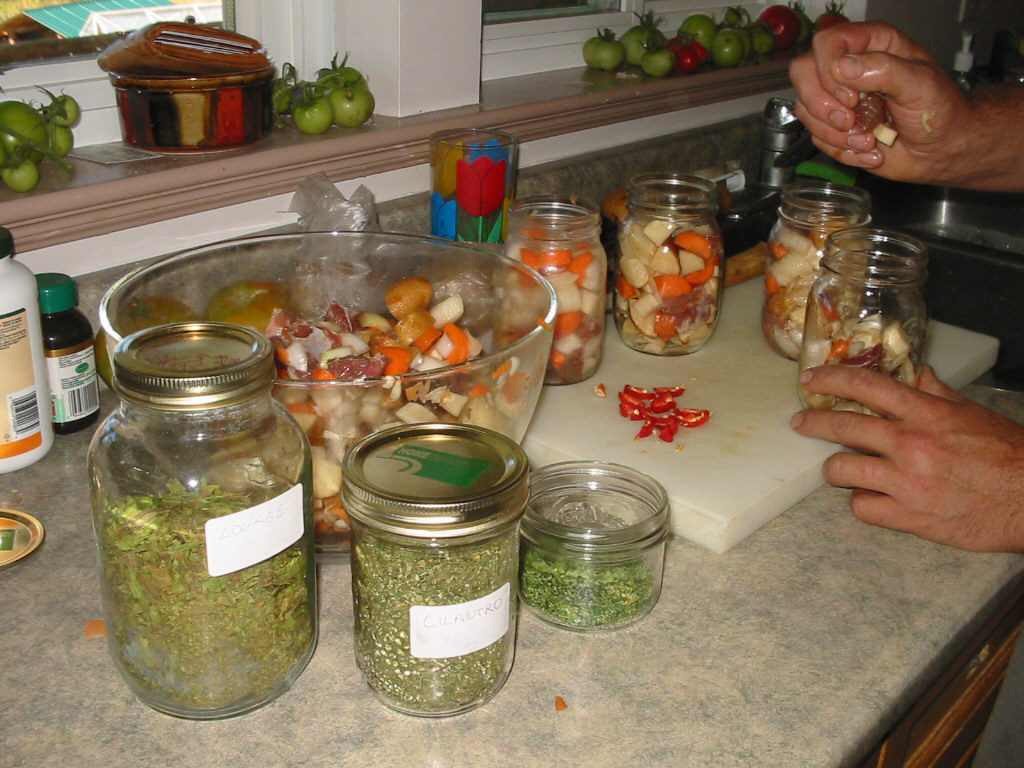 pressure canner, canning meat, preserving food