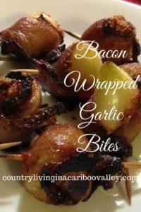 appetizer, garlic, bacon