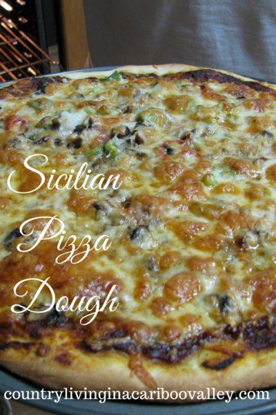 Sicilian Pizza Crust (Make it in Bulk) – Recipe