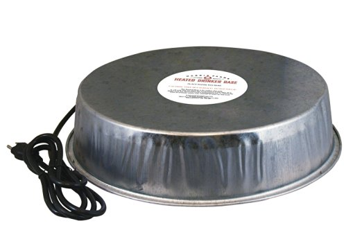 Heated Poultry Waterer Base