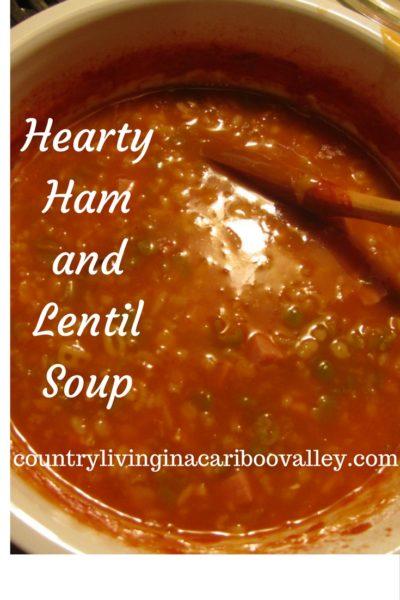 Ham & Lentil Soup – Recipe