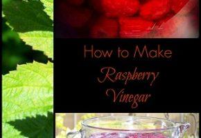 Raspberry Vinegar with Honey
