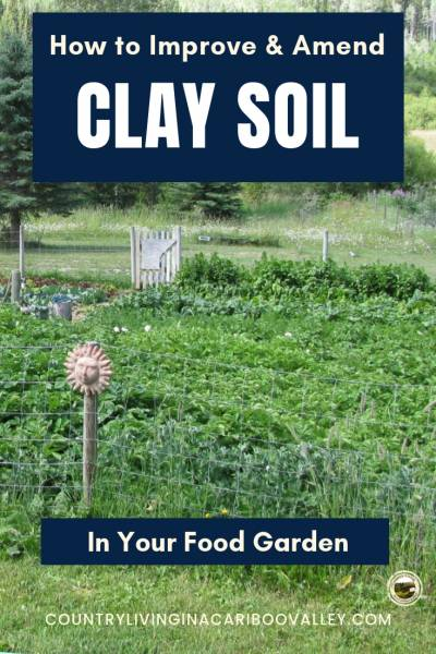 How To Improve Clay Soil - Country Living in a Cariboo Valley