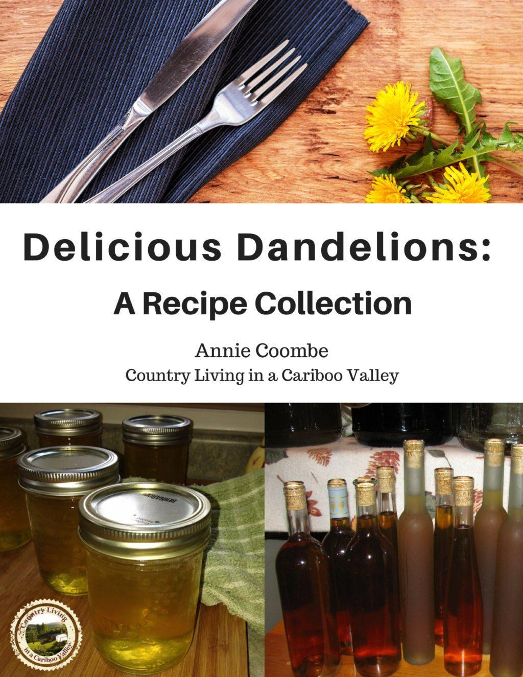 cooking with dandelions, eat dandelions