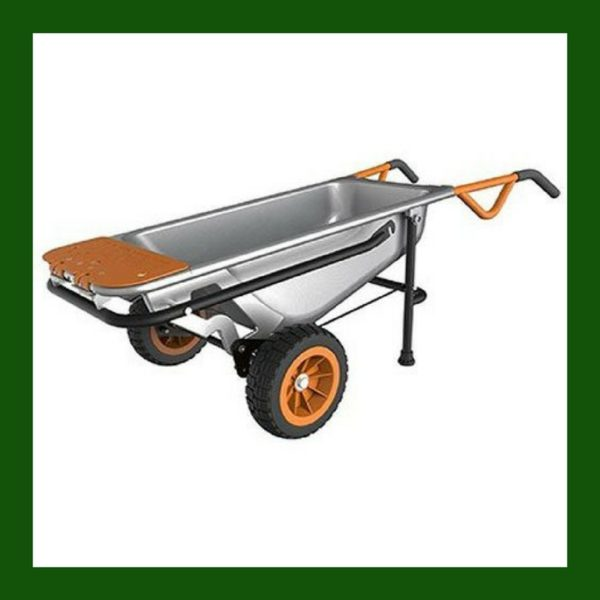 garden cart, dolly, yard cart, wheelbarrow