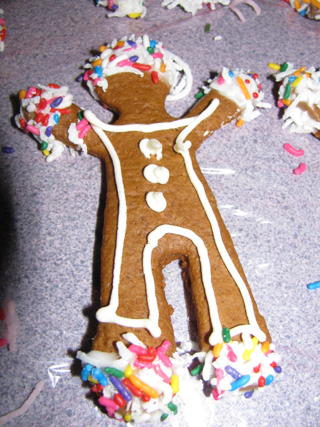 It's time to make Gingerbread Men! Here's the recipe and decorating recipes. Have fun. Tasty, fun to make and little ones love them!