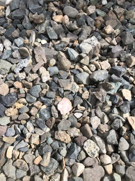 Use quality gravel that has been crushed to build your gravel path.
