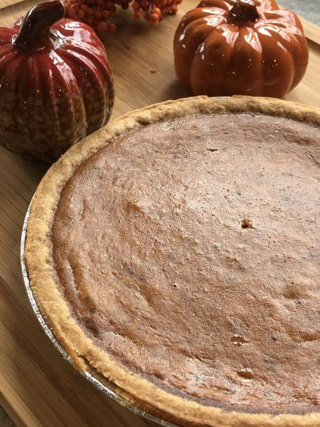 Home Made Pumpkin Pie with Fireball Liqueur. Use pumpkin filling from the can to make this dessert from scratch. A simple yet perfect Thanksgiving holiday addition.