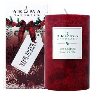 a gift box with scented candles